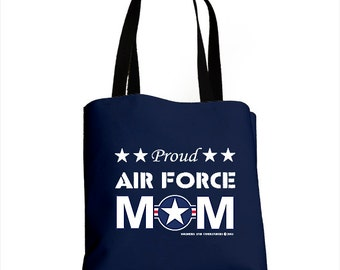 Proud Air Force Mom All-Over Bag (Made in the USA)