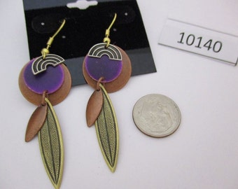 JEF10140: Vintage Pierced Earrings