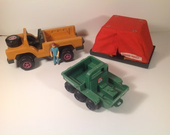 Vintage people Fisher price 1975 action adventure