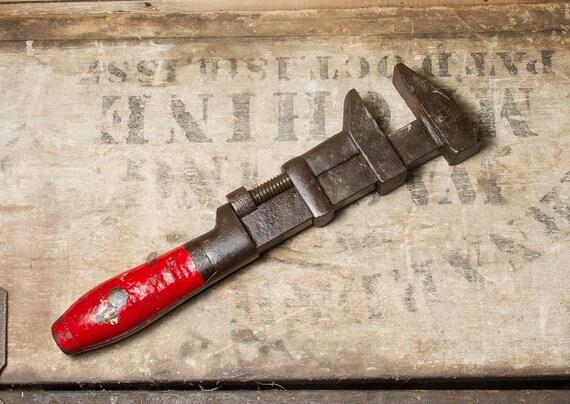 Antique L Coes Amp Co Adjustable Wrench Pat D Dates 1895