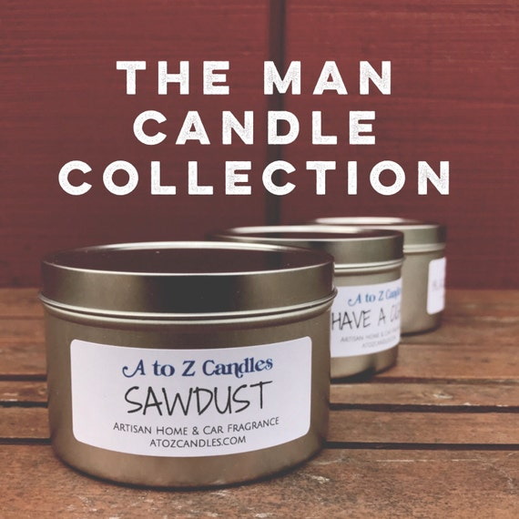 Man Cave Gifts For Him : Man candle gift for him cave candles men