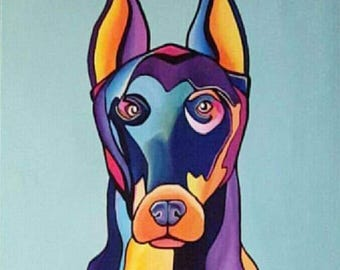 Puppy Paintings