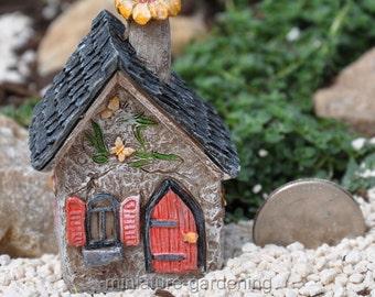 Itty Bitty Butterfly House for Miniature Garden, Fairy Garden