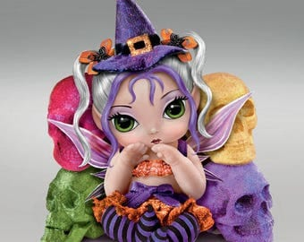 Baby Fairies ''TRICK OR SWEET'' Sweet Baby Dolls Collection By Jasmine Becket Griffith - Bradford Exchange