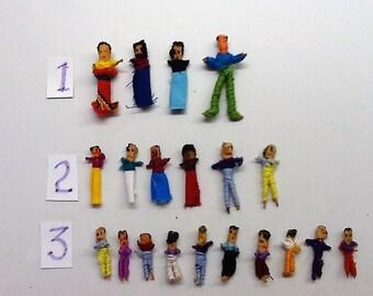 Guatemalan Worry Dolls, Vintage