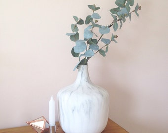 Faux eucalyptus artificial flowers