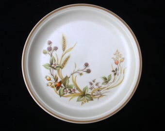 Marks and Spencer St Michael Tea or Side Plate in the Harvest pattern 6.5 inches Replacement Excellent (Three available)