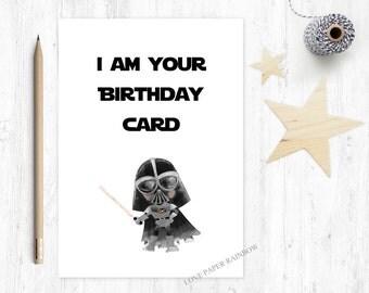 star wars birthday card