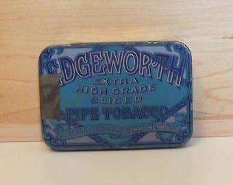 EDGEWORTH Tobacco Tin...1940s...Advertising Tobacco Tin...Tobacco Tin....LARUS & BRO Company