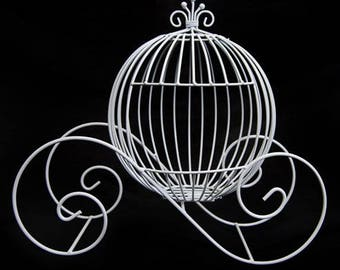 Cinderella Coach - (Thick Wire) (1) - For Event Decorating and Centerpieces