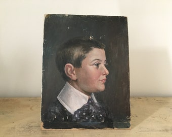 Portrait of former child.