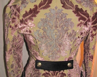 Victorian / steampunk Brocade jacket! REDUCED!