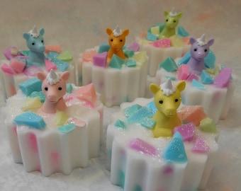 Unicorn Soap - Unicorn Gift - Unicorn Party - Unicorn Party Favor - Magical Party Favor - Unicorn Birthday Party -  Novelty Soap - Kids Soap