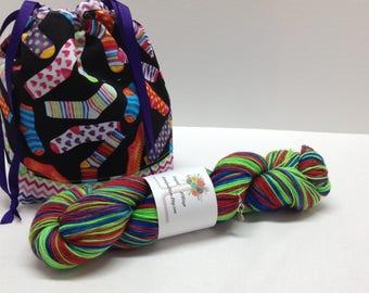 Sock Sack - Sock Yarn Kit