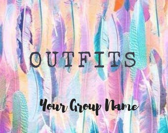 Digital Album Covers for Clothing Consultants