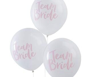 Hen Party Balloons | Bachelorette | Team Bride Balloons | Hen Party | Bridal Shower Decorations | Bridal Party | Hen Do | Bride Tride Tribe