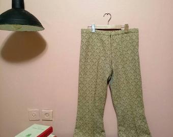 Womens pants, vintage pants, 60s pants, wool pants, vintage clothing