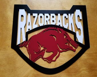 Arkansas Razorbacks Metal Wall Art