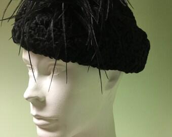 Vintage KARAKUL womens HAT