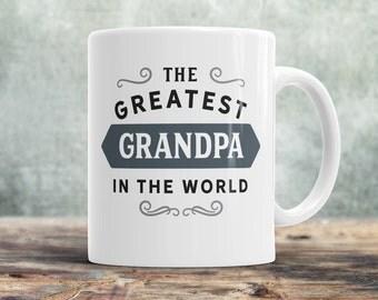 Grandpa Gift, Greatest Grandpa, Grandpa Mug, Birthday Gift For Grandpa! Grandpa, Grandpa Birthday Gift, Present For Grandpa, Awesome Grandpa
