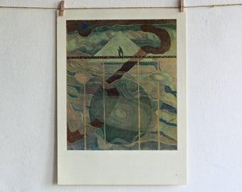 Vintage Wall Art - Abstract Painting Decor - Wall Poster - Mikalojus Konstantinas Čiurlionis - Wall Decor
