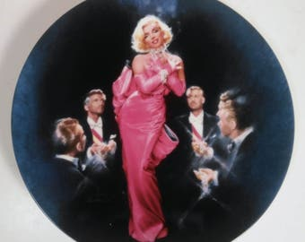 Vintage Marilyn Monroe Diamonds Are A Girls Best Friend Decrative Wall Plate