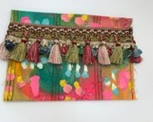Textile Artist Kit and Hand Painted Pouch