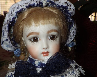 Artist Made French Fashion Doll French Country Maiden