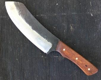 Nessmuk XL -chopper-short bowie-Belt knife-knife- bushcraft knife-butcherknife-camp knife-hunting knife-hunting- belt knife-custom knife