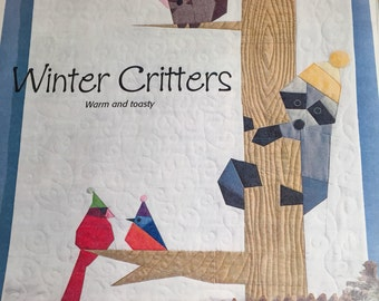 Winter Critters kit - fabric and pattern