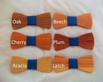 Handmade Wooden Bowtie