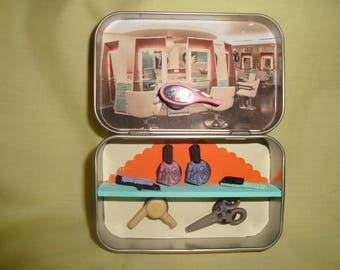 Altoids tin, Pocket Toy, Little Hairdresser