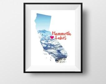 Mammoth Lakes Love Prints