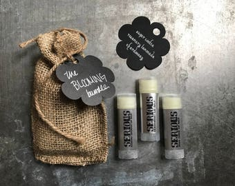 The Blooming Lip Balm Bundle - 3pack