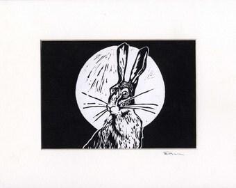 """Hare and the moon """"Le lievre de la lune"""""""
