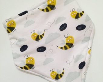 Bandana bib / bib / dribble bib / baby dribble bib / baby bib / baby bandana bib / gifts for baby / new baby gift