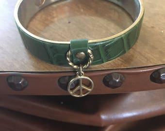 Unique peace bracelet