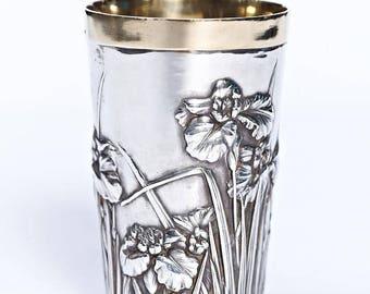 """Silver glass """"Iris"""" 1306 (little)"""
