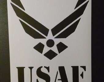 usa us United States Air Force Custom Stencil FAST FREE SHIPPING