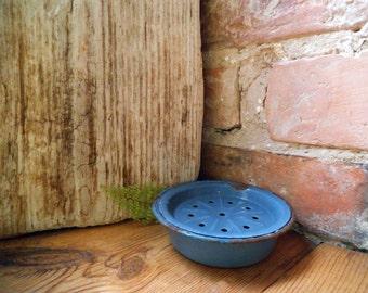 vintage enamel soap dish antique soap holder lilac soap dish enamelware vintage bathroom accessories romantic bathroom - Bathroom Accessories Etsy