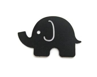 Paper Elephant Die Cuts Set of 30