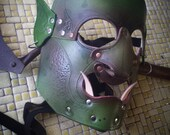 leather orc mask