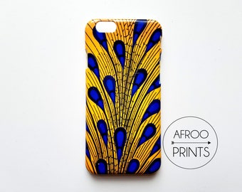 AFROOPRINTS. African Wax XXXIX print iPhone case