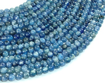 Kyanite, 5mm(5.3mm) Round Beads, 15.5 Inch, Full strand, Approx 82 beads, Hole 0.8mm (294054009)