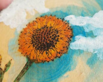 Sunflower - by Yarrish Arts
