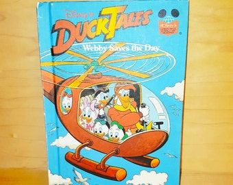 """Wonderful World of Reading * DuckTales """" Webby Saves the Day """" 1989"""