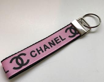 Designer key Fob key chain key lanyard key wristlet keychain key holder key ring