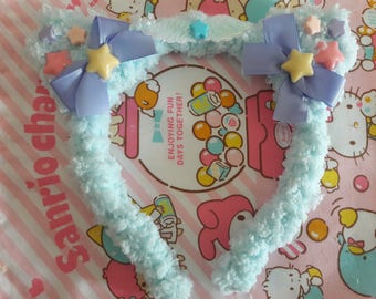 C.Kitty headband (light blue)