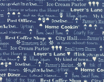 Hometown Girl by Pat Sloan - (43061-20) Quilting Fabric by the 1/2 Yard Increments