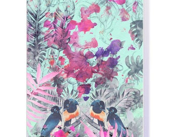 Into the Rainforest' Greeting Card